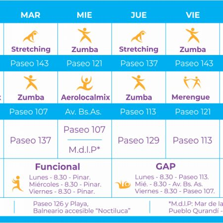 Playas Saludables - Zumba