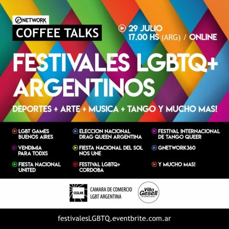 Coffee Talks! FESTIVALES LGBTQ+ ARGENTINOS